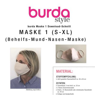 www.burdastyle.de mundschutz tutorial