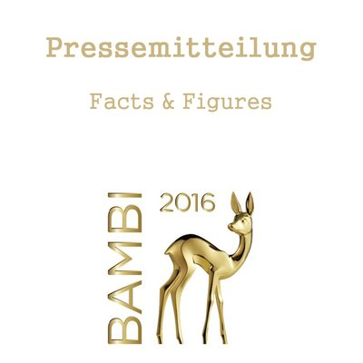 News: Spektakuläre Preisträger bei der 68. Bambi-Verleihung in Berlin